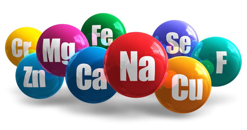 Vücudumuzdaki mineraller